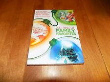 A STRING OF FAMILY FAVORITES POLAR EXPRESS TOM AND JERRY Christmas DVD SET NEW