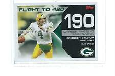 2008 TOPPS FLIGHT TO 420 BRETT FAVRE #BF-190