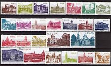 South Africa 1982/87 Architecture Definitive set of 25 unhinged mint