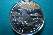 """S-PROOF""  1790  RHODE ISLAND STATE-WASHINGTON QUARTER PROOF COIN, Uncirculated"