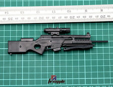 """1/6 Scale Soldier Weapon Model HK SL8 Sporting Sniping Rifle Toys Fit 12"""" Figure"""