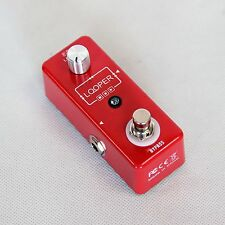 ELECA Effect Pedal Looper, MLP-1, Electric Guitar, Electric Bass Guitar