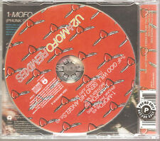 "U2 ""MOFO REMIXES"" 3 Track Promo stickered CD single"