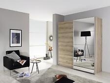Camera armadio 2 ante scorrevoli Eiche Sanremo hell (rovere)/specchio 181 cm