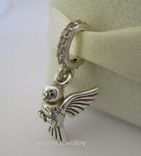Authentic Genuine Pandora Sterling Silver Dove of Peace Charm - 791394CCZ