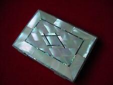19th Century MOTHER of PEARL & ABALONE CARD CASE
