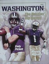 2003 WASHINGTON HUSKIES FOOTBALL MEDIA GUIDE (CODY PICKETT CVR
