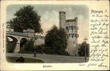 NIJMEGEN Holland Nimwegen Gelderland um 1900 Litho-AK Briefkaart Belvedere
