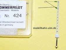 SOMMERFELDT 424 Gitter-Streckenmast Metall lackiert DB Spur N, Neuware