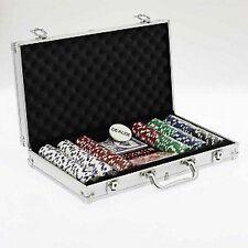 Malette de Poker 300 jetons en Métal