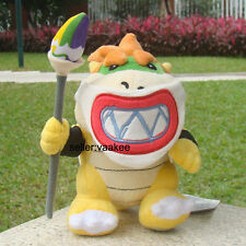 "Super Mario Bros Run Bowser Jr. 6.5"" Masked Plush Toy Cuddly Stuffed Animal Doll"