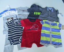 NEW 11 PC. LOT OF NEWBORN BABY BOY CLOTHES 0-3 MONTHS NWT $126