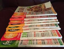 Food Network Magazine Lot of 14 Issues 2012-2013 - Includes Christmas / Holiday
