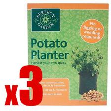 3x Pomme De Terre Sacoche Pot De Croissance Plante Cultivez Votre Propre