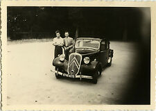 PHOTO ANCIENNE - VINTAGE SNAPSHOT - VOITURE AUTOMOBILE TRACTION CITROËN - CAR