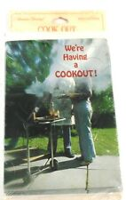 American Greetings Vintage COOK OUT Invitations Come On Over & Join the Fun