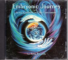 Jorma Kaukonen And Tom Constanten ‎– Embryonic Journey CD NM/NM 1995 US Limited