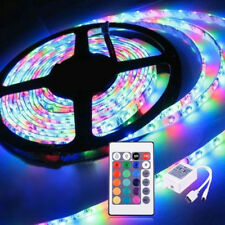 Enchanting Remote Control 5M 300 LED RGB Waterproof SMD Strip Light 12V Adapter