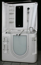 "51"" x 29""  STEAM PLANET HY-1207 LEFT AIR TUB & SURROUND WITH HEATER WALK-IN BATH"