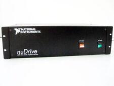 NI NUDRIVE-25X-411 4-AXIS MOTOR CONTROLLER POWER AMPLIFIER INTERFACE 184986A-042