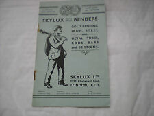 A Vintage Skylux Gold Medal Benders etc Illustrated 14 Paged Catalogue -V.RARE!