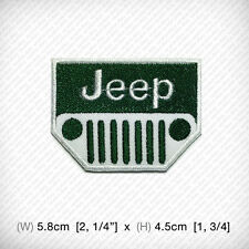 New Jeep Embroidered Patch Iron on or sew ON JACKETS VESTS BAGS etc. ADVENTURE
