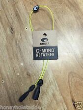 BRAND NEW COSTA DEL MAR C-MONO LINE RETAINER KEEPER STRAP YELLOW