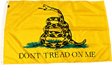 3x5 Gadsden Tea Party (Double Sided) Super Polyester Flag (Indoor / Outdoor)
