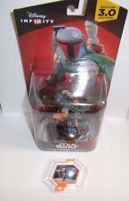 DISNEY INFINITY 3.0 Star Wars Boba Fett Figure Character Slave I Ship Power Disc