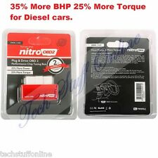 Universal Diesel Nitro OBD2 Performance Chip Tuning Box Plug & Drive Cars