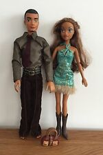 Mattel Barbie My Scene Dolls - Sutton Boy  & Girl Doll With Clothes & Pair Boots