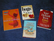 4x books on SURVIVING FAMILY LIFE, RELATIONSHIPS, PERSONAL WELL BEING, TEENAGERS