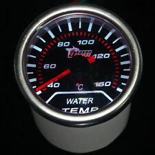 "Pointer 2"" 52mm Car Universal Smoke Len LED Water Temp Temperature Gauge Meter"