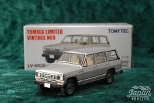 [TOMICA LIMITED VINTAGE NEO LV-N109a 1/64] NISSAN SAFARI EXTRA VAN DX (Silver)
