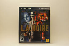 L.A. Noire Complete Edition (Sony PlayStation 3, 2011)
