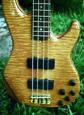 RARE 2002 Fender American Deluxe Zone 4 String Bass! Flame Maple! USA! w/OHSC
