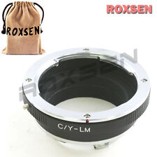 Roxsen Contax Yashica C/Y lens to Leica M L/M Mount Adapter M9 M9P M-E Type 240