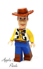 NEW Lego Toy Story WOODY MINIFIG - Disney Minifigure w/Cowboy Hat 7597 7594 7590