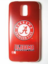 NCAA University of Alabama Crimson Tide Logo Galaxy S5 G900 Plastic Slim Case