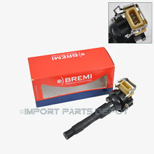 BMW Ignition Coil + Spark Plug Connector Bremi OEM Germany 03228 / 48018 (1pc)