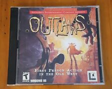 Used PC game Outlaws CD-ROM LucasArts western game