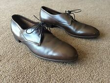 """AUTH CONTINENTALS BY BALLY """"HUDSON' LEATHER OXFORDS DRESS SHOES Sz 11 1/2 AA"""