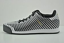Men Adidas Samoa Plus Casual Sneakers Shoes Size 8 White Black Gold A16166 Zebra