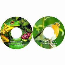 Natural Sounds Songs Birds Ranas 2 CDs Relaxation Alivio Del Estrés