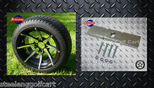 """CLUB CAR DS GOLF CART LIFT KIT + 14"""" WHEELS and 205/30-14 LOW PROFILE TIRES"""