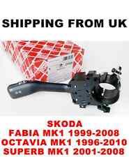 Indicador de tallo sin Crucero de señal de vuelta interruptor Skoda Fabia Octavia Superb Mk1