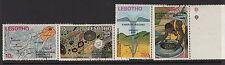 LESOTHO : 1973 International Kimberlite Conference   set SG246-9  fine used