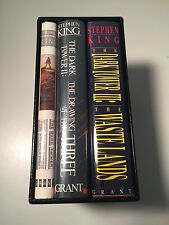 Stephen King THE DARK TOWER  I, II, & III Gorgeous Boxed Set. 2 SIGNED by Artist