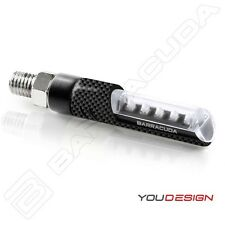 BARRACUDA FRECCE LED IDEA CARBON per MOTO GUZZI MILLE GT / SP - MSG 01 CORSA