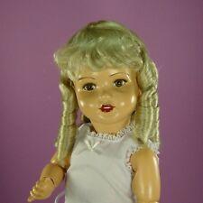 Perruque Margot 33/34cm pour poupée porcelaine ancienne et moderne. Doll wig